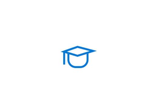Graduation hat icon.