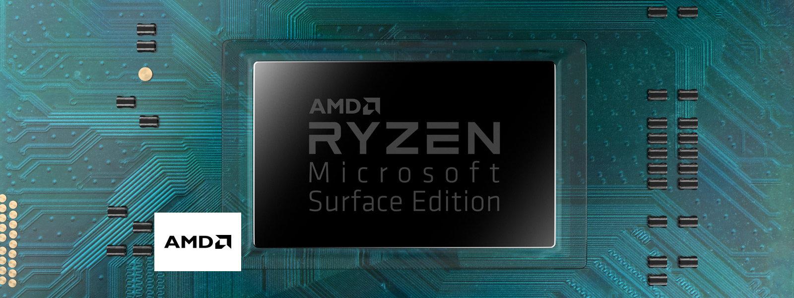 An AMD Ryzen processor.