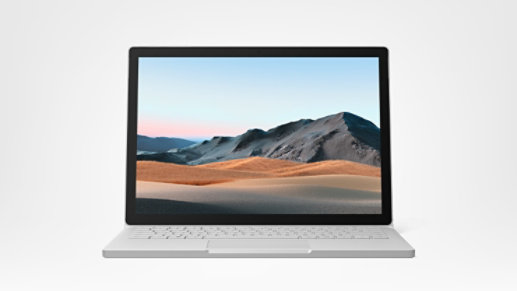 Surface Book 3 in laptop mode.