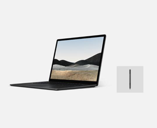 A Surface Laptop 4 bundle with Surface Pen