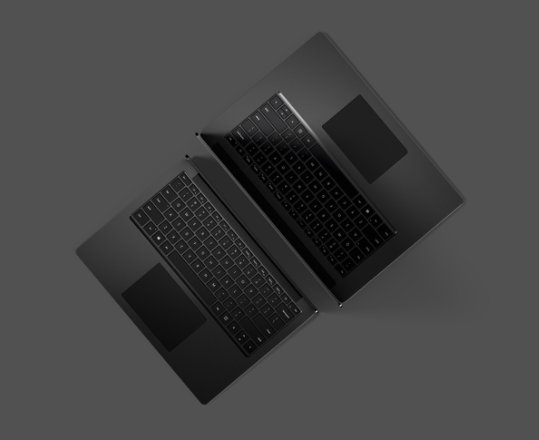 Surface Laptop 3 for Business in Black.