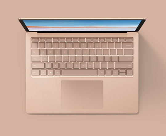 Sandstone Surface Laptop 3 for Business.