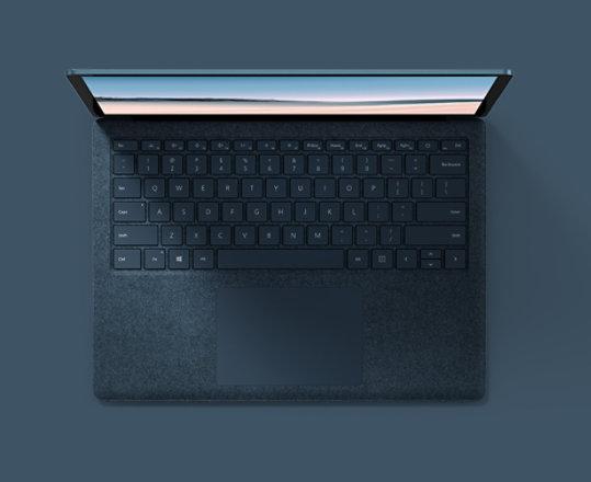 Cobalt Blue Surface Laptop 3 for Business.