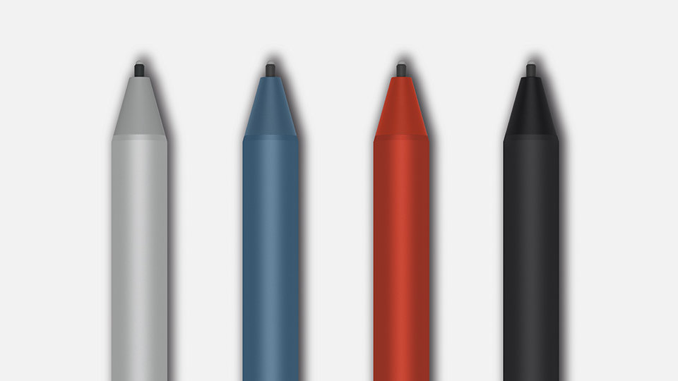 Surface Pens in various colours.