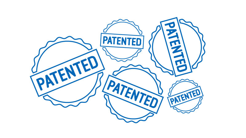 Patent seals illustration