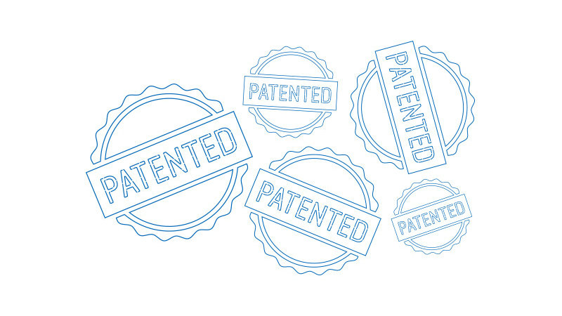 Patent seals illustration