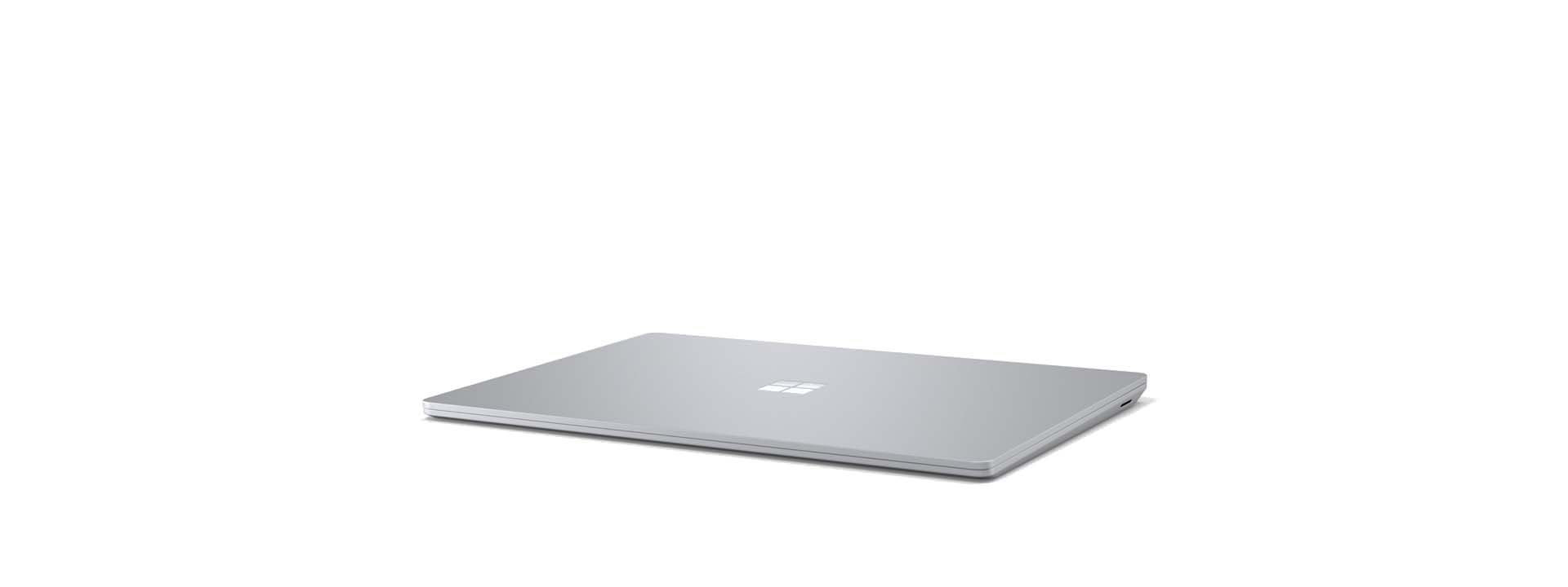 A folded Surface Laptop 3
