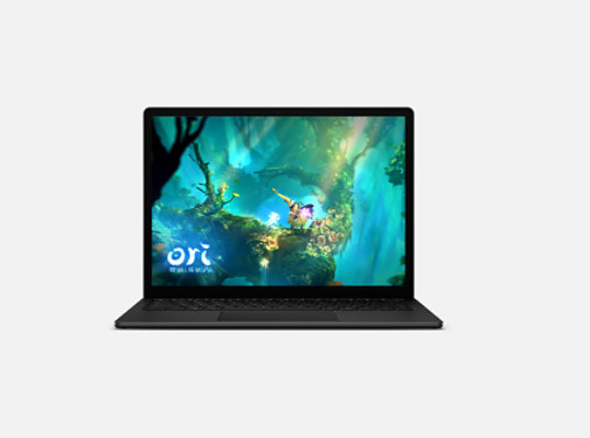 An Xbox game on Surface Laptop 4.
