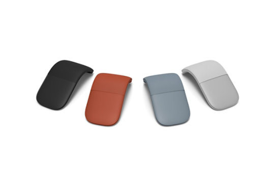 Surface Arc Mouse in various colors.