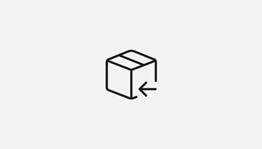 Value prop glyph for returns