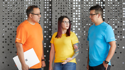 Three Microsoft Product Experts