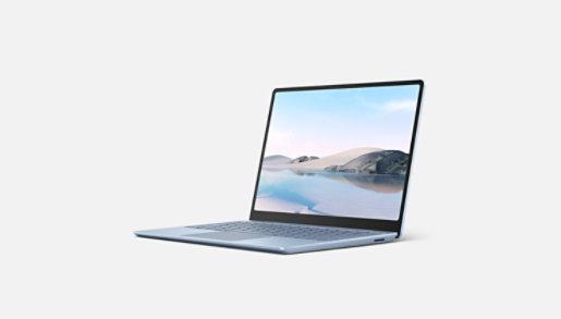 A Surface Laptop Go