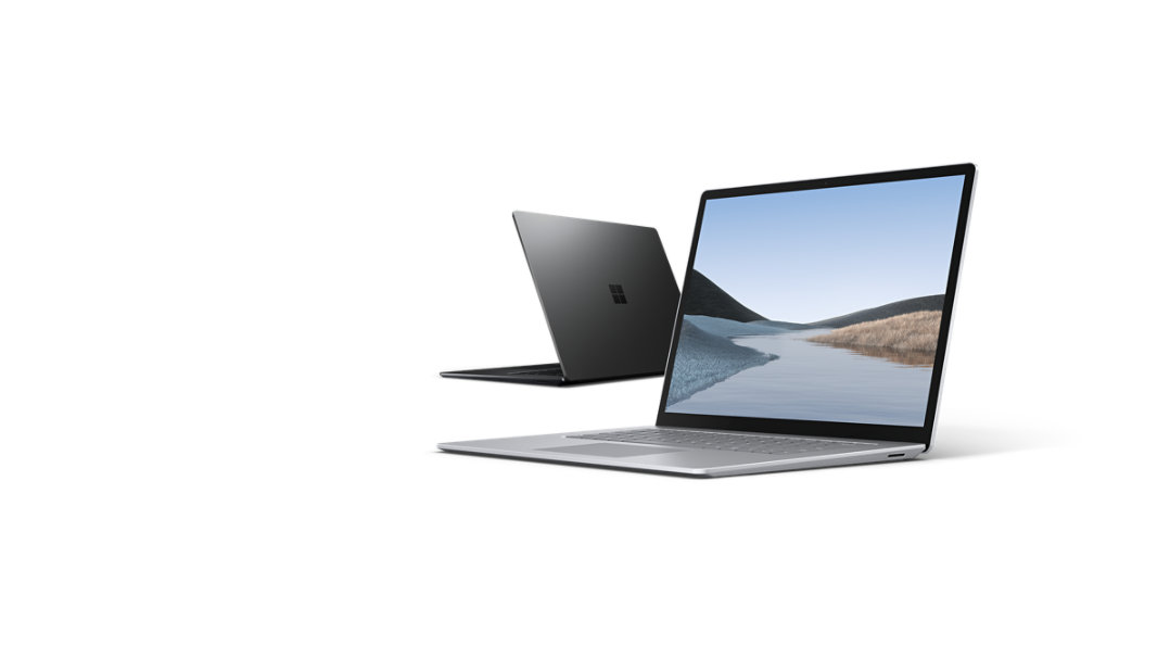 Two Surface Laptop 3 devices.