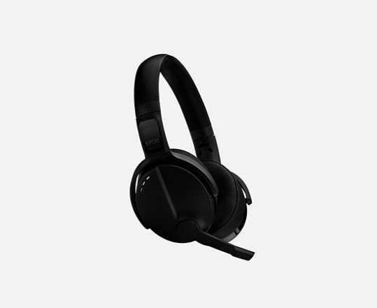 Sennheiser Adapt 560 headset in black facing the right.