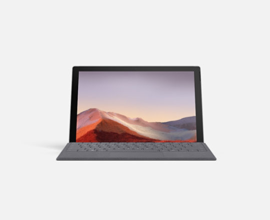 Surface Pro 7 with Surface Pro Signature Type Cover