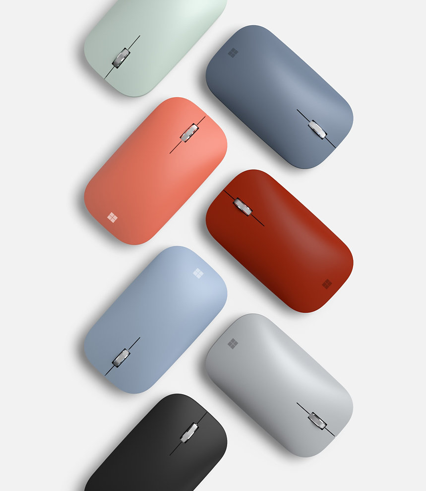 Surface Mobile Mouse in various colours.