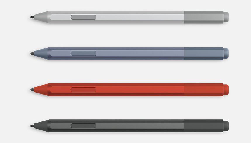 Surface Pen in various colours.