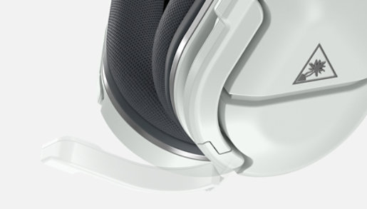 Zoomed in side angle view of Turtle Beach® Stealth™ 600 Gen 2 Wireless Gaming Headset and mic.