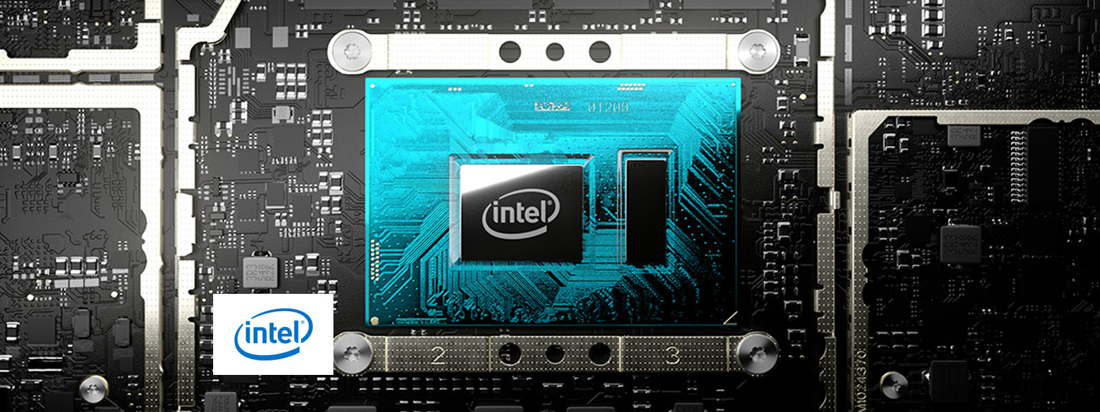 An Intel® processor inside Surface Pro 7.