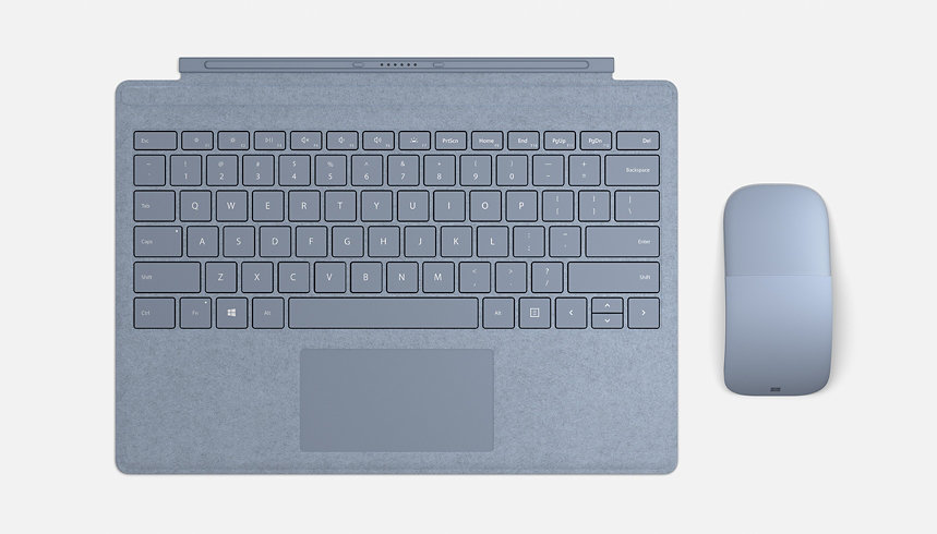 Surface type cover and mouse.